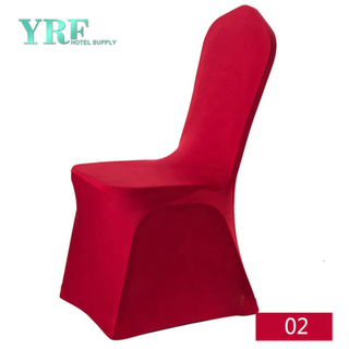 YRF Usine de gros bon marché Universal Spandex Red Chair Covers