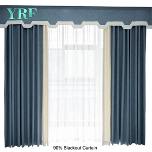 90 X 90 Bed Bath and Beyond Rideaux blanc Blackout Pour YRF